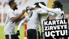 Süper Lig'de yeni liderBeşiktaş!
