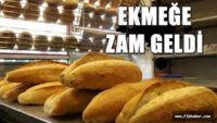 Balıkesir'de ekmek fiyatına yılın ilk günü zam