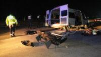 Balıkesir'de feci kaza : 3 ölü 9 yaralı var!