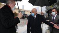 Cumhurbaşkanı Erdoğan MHP lideri BAHÇELİ'yi ziyaret etti