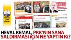 Heval Kemal, PKK'nın sana saldırması için ne yaptın ki?