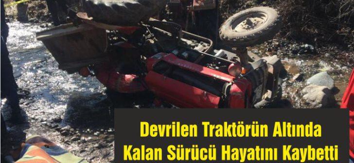 Balıkesir'de Yine Traktör Kazası ve Can Kaybı Var