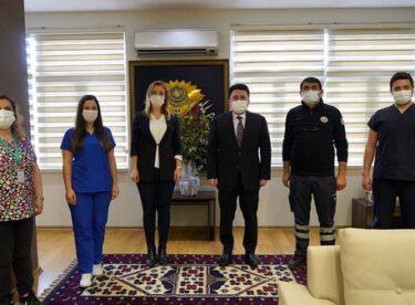 Türkiye Sağlık İşçileri Sendikası Altıeylül'ü ziyaret etti