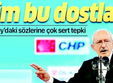 """Kılıçdaroğlu """"dostlar"""" derken CHP ailesi parçalanıyor!"""