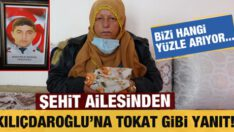 Şehit ailesinden Kılıçdaroğlu'na tokat gibi yanıt!