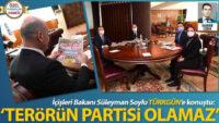 İçişleri Bakanı Soylu: Terörün partisi olamaz