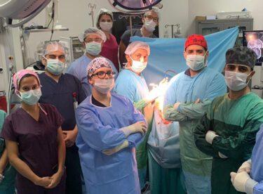 BAÜN Hastanesinde Riskli Bir Beyin Ameliyatı Gerçekleştirildi