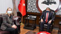 Hırvatistan İstanbul Başkonsolosu Vali Hasan Şıldak'ı ziyaret etti