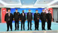Vali Hasan Şıldak İçişleri Bakanı Süleyman Soylu ile toplantıya katıldı