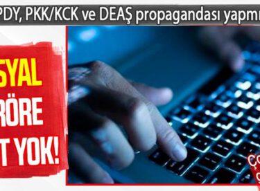 PKK/KCK – PYD/YPG Terör örgütü propogandası yapan
