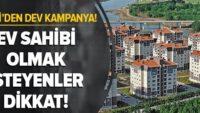 Balıkesir ve  31 ilde TOKİ'den çekilişsiz kurasız ev fırsatı!