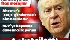 MHP 13.Olağan Kurultayı'ndaDevlet Bahçeli'den flaş mesajlar: HDP açılmamak üzere kapatılmalı
