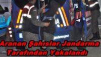 YOL ARAMALARINDA YAKALANDILAR