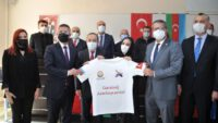 AZERBAYCAN'DAN REKTÖR İLTER KUŞ'A ŞÜKRAN MEKTUBU