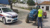 Traktör Denetimi sonucunda; (1.035) araç kontrol edildi