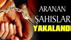 ARANAN 72 ŞAHIS YAKALANDI