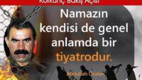 PKK'lı namaz kılıyormuş?