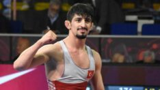 BAÜN Öğrencisi Milli güreşçi Kerem Kamal Avrupa ikincisi oldu