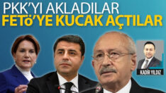 PKK'YI akladılar FETÖ'ye kucak açtılar