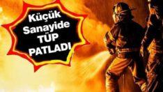Balıkesir Sanayi Sitesinde büyük patlama!