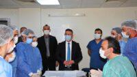 Rektör Prof. Dr. İlter Kuş, BAÜN-DEHAM'da İncelemelerde Bulundu