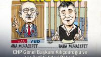 Cumhuriyet Kılıçdaroğlu ve suçörgütü lideri Peker'i bir tuttuğu karikatürü sildi