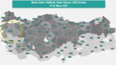 Balıkesir'de Vakalarda Yaşanan Düşüş Bakanlığın Tablosunda
