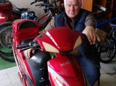 Çocukların bisikletçi dedesi Covid19 kurbanı