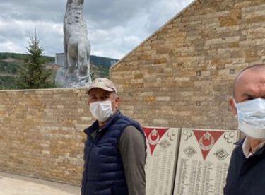 Ülkücü Şehitler Anıtında hummalı çalışma