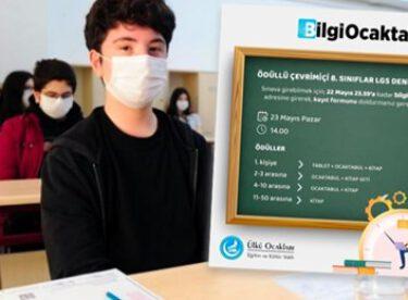 Ülkü Ocakları'ndan LGS öğrencilerine deneme sınavı müjdesi