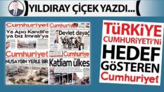 Türkiye Cumhuriyeti'ni hedef gösteren Cumhuriyet