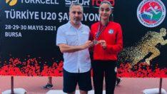 Aleyna KARACA yüksek atlama branşında Türkiye ikincisi oldu.