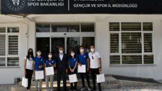 Balıkesir Gençlik ve Spor Kulübü Badminton sporcuları