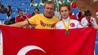 Balıkesir'imizin gururu Muhsine Gezer Dünya şampiyonu