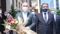 Ulaştırma ve Altyapı Bakanı Sayın Adil Karaismailoğlu Balıkesir Valiliği'ni ziyaret etti.