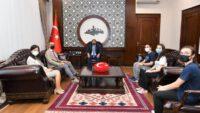 Sırrı Yırcalı Anadolu Lisesi'nden Vali Şıldak'a Ziyaret