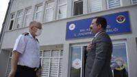MHP'DEN İL JANDARMA KOMUTANI TARIKHEKİMOĞLU'NA ZİYARET