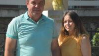Babayla kızı Üniversite sınavına birlikte girdi