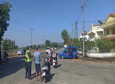"""""""Trafik, Motosiklet Uygulaması""""nda  (2.548) araç kontrol edildi"""