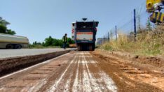 BBB, 30 Bin Ton Asfalt Serimine Başladı