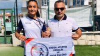 Aleyna KARACA Yıldızlar Türkiye Şampiyonası yüksek atlamada Türkiye Şampiyonu oldu.