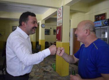 MHP ESNAF ZİYARETLERİNİ SÜRDÜRÜYOR