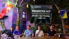 Ayvalık Küçükköy'deSrebrenitsa Soykırımının 26. yıldönümü sebebiyle Mevit okutuldu