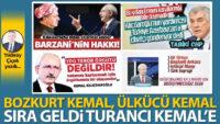 Bozkurt Kemal, Ülkücü Kemal, sıra geldi Turancı Kemal'e