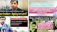 Sen PKK'lı terörist savunarak nur saçıyorsun değil mi?