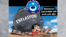 """""""Enflasyon koşuyor maaşlar eriyor!"""""""