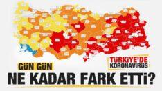 Türkiye'de gün gün koronavirüs vaka ve ölüm tablosu! Ne kadar fark etti?