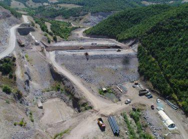 #Balıkesir İvrindi Çukurlar Barajında Çalışmalar Devam Ediyor.