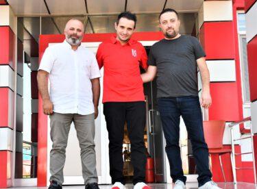 MHP İl Başkan Yardımcısı Taha Tunus BALKES'i ziyaret etti.