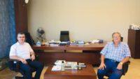 İl MüdürüErkan Alkan Tellioğlu'nu ziyaret etti.